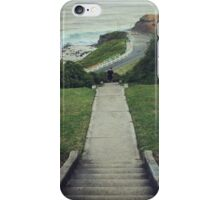 Newcastle coast, Australia iPhone Case/Skin