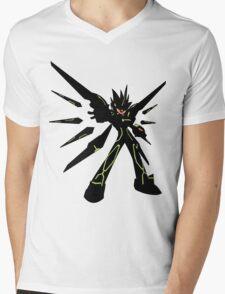 Megaman Starforce 3 - Black Ace Mens V-Neck T-Shirt
