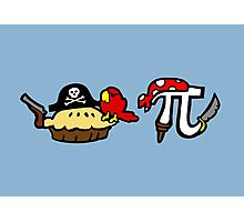 Pie and Pi Pirates Photographic Print