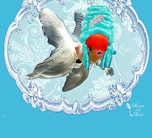 "Mozart and Marie "" A Queen in a Fish Bowl"" by MozartandMarie"