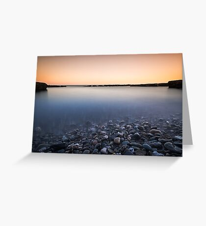 Bathing Cove West Cork Ireland Greeting Card