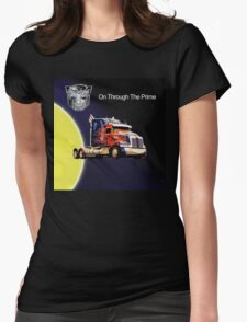 On Through the Prime Womens Fitted T-Shirt