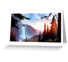 Gravity Falls Greeting Card