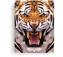 Raw tiger Canvas Print