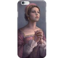 Catherine Parr iPhone Case/Skin