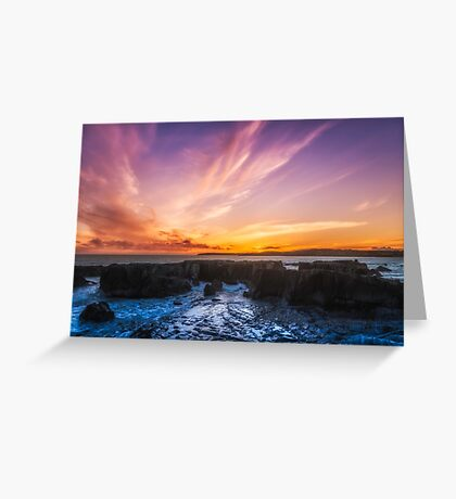 Ring Cove Clonakilty West Cork  Greeting Card