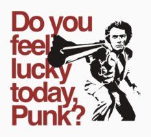 Dirty Harry - Do you feel lucky today, Punk? One Piece - Long Sleeve