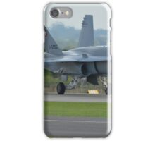 Swiss Air Force F-18 Hornet.... iPhone Case/Skin