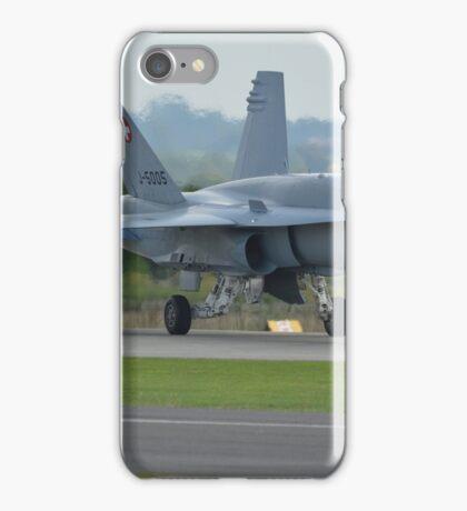 Swiss Air Force F-18 Hornet.... iPhone Case/Skin