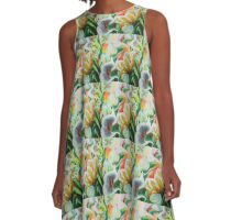 LiLies of The Valley A-Line Dress