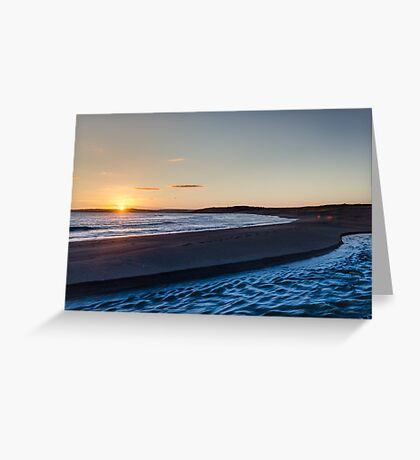Long Strand West Cork Sunset Greeting Card