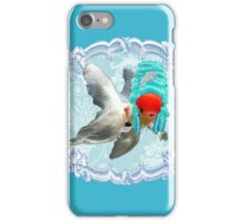 """Mozart and Marie """" A Queen in a Fish Bowl"""" iPhone Case/Skin"""