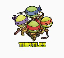 turtles tmnt Women's Fitted V-Neck T-Shirt