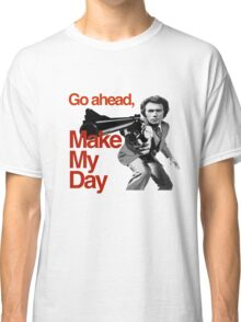 Dirty Harry - Go ahead, make my day! Classic T-Shirt