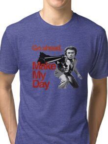 Dirty Harry - Go ahead, make my day! Tri-blend T-Shirt