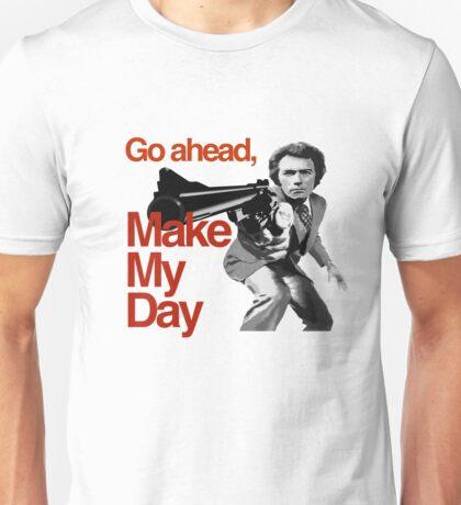 Dirty Harry - Go ahead, make my day! Unisex T-Shirt