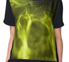 Green Nebula Chiffon Top