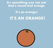 It's an orange! Baby Tee