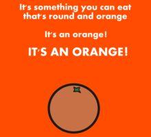 It's an orange! Kids Clothes