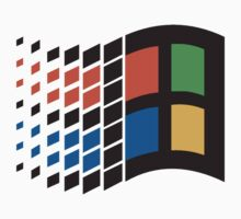 windows old logo by menswear