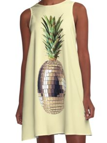 Ananas party (pineapple) A-Line Dress