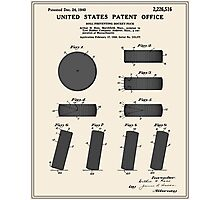 Hockey Puck Patent - Colour Photographic Print