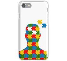 puzzle head design iPhone Case/Skin