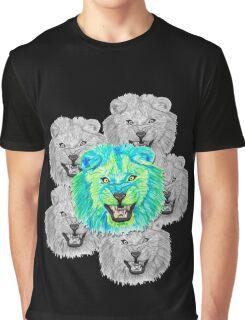 Lion / Löwe version 3 Graphic T-Shirt