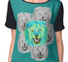 Lion / Löwe version 3 Chiffon Top