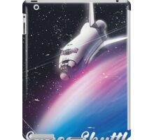 Space shuttle Science fiction space poster iPad Case/Skin