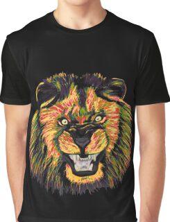 Lion / Löwe version 5 Graphic T-Shirt