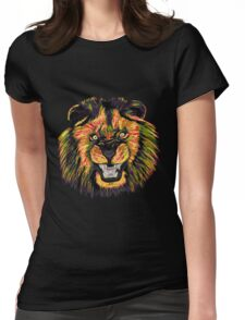 Lion / Löwe version 5 Womens Fitted T-Shirt