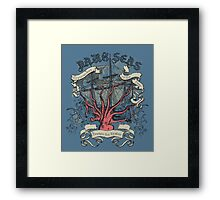 Dark Seas. Framed Print