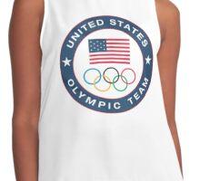 USA olympic team Contrast Tank