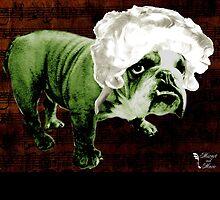 "Mozart and Marie ""Bulldog Composer"" by MozartandMarie"