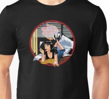 Pulp Fiction - Blue Mia@Jack Rabbits Variant Unisex T-Shirt