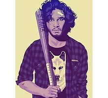 Hipster Jon Snow by MellG