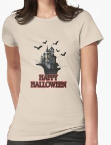 Happy haloween Tshirt Womens Fitted T-Shirt