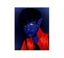 X-Men Nightcrawler Art Print