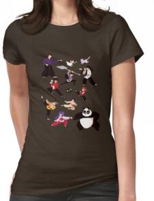 Martial Arts Womens Fitted T-Shirt