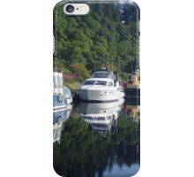 Boats on the Caledonian Canal iPhone Case/Skin
