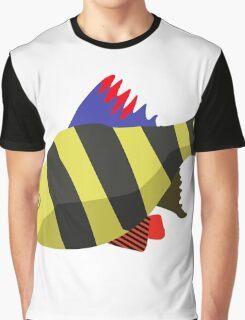 Cute fish cartoon Graphic T-Shirt