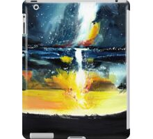 White Streak iPad Case/Skin