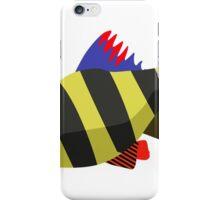 Cute fish cartoon iPhone Case/Skin