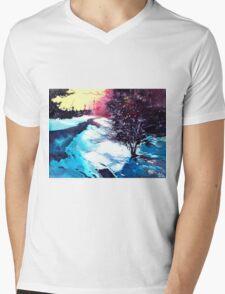 Icy Morning Mens V-Neck T-Shirt