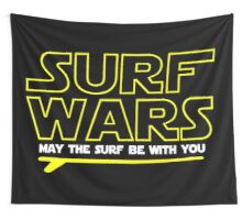 Surf Wars Wall Tapestry