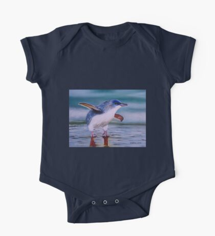 Bébé pingouin One Piece - Short Sleeve