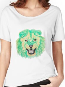 Lion / Löwe version 9 Women's Relaxed Fit T-Shirt