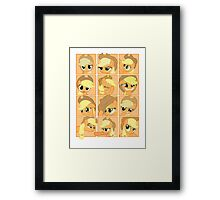 Mirror Pool of Pony - Applejack Framed Print