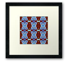 Pretty Blue (VNS.11) Framed Print